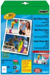inkjet Ultra fotopapier A4 180gram zijdemat 20 vel