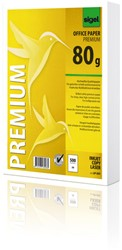 kopieerpapier Sigel A5 80grs wit premium ink/laser/copy