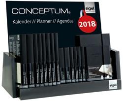 inhoud toonbankdisplay Conceptum agenda's 2018