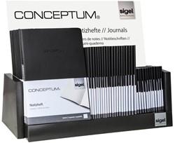 Inhoud toonbankdisplay Sigel Conceptum Notitieboekje