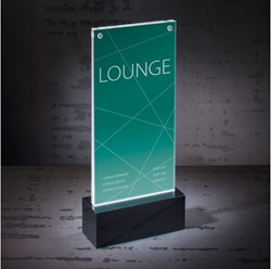 Tafelstandaard Sigel LED verlicht DL 116x255x45