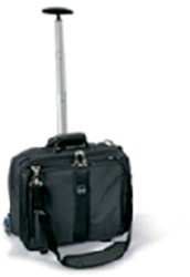 "Laptoptas Trolley Kensington Contour 17"" zwart"