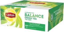 Thee Lipton Balance Green tea 100stuks