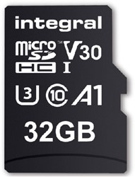 Geheugenkaart Integral Micro SDHC V30 32GB