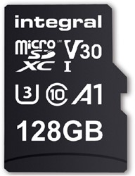 Geheugenkaart Integral Micro SDXC V30 128GB
