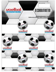 Schooletiketten Voetbal International