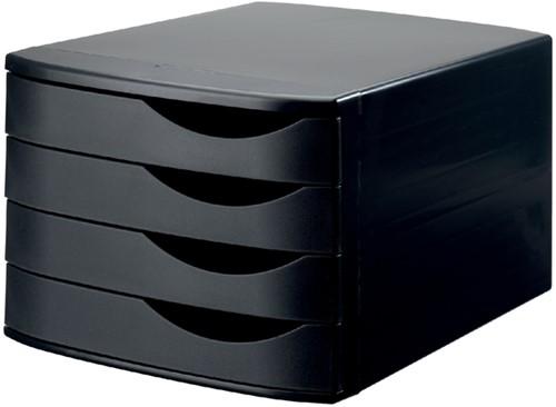 Ladenbox Jalema Re-Solution 4 laden zwart