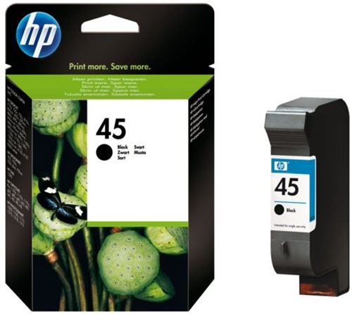 Inktcartridge HP 51645A 45 zwart