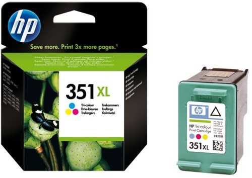 Inktcartridge HP CB338EE 351XL kleur HC
