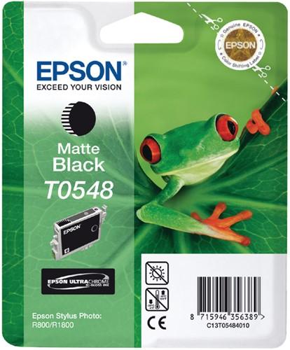 Inktcartridge Epson T0548 mat zwart