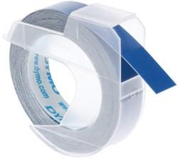 Labeltape Dymo rol 9mmx3M glossy vinyl prof blauw
