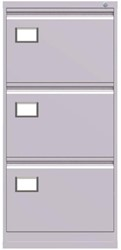 Ladenkast Triumph 3 laden licht grijs