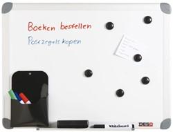 Whiteboard Desq 45x60cm in kunststof draagtas