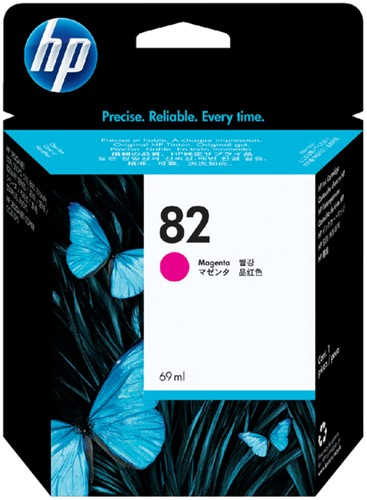 Inktcartridge HP C4912A 82 rood
