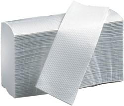 Handdoek PrimeSource Midi zigzag 1laags 23x25cm naturel