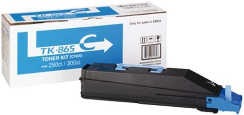 Toner Kyocera TK-865C blauw