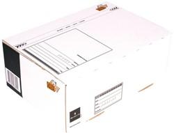 Postpakketbox 4 CleverPack 305x215x110mm wit 25stuks