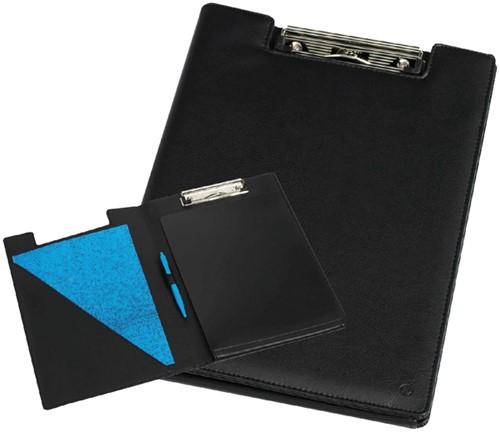 Klembordmap Rillstab 98850 luxe kunstleder zwart