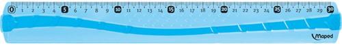 Liniaal Maped 244030 Flex soft 300mm assorti