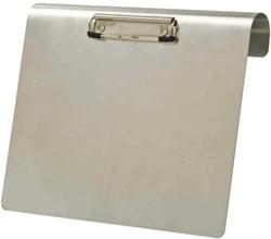 Klembord LPC aluminium A4 liggend 120mm met klem+hangbeugel