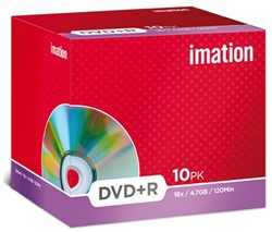 DVD+R IMATION 4.7GB 16X SHOWBOX 1 STUK