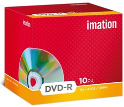 DVD-R IMATION 4.7GB 16X SHOWBOX 1 STUK