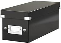 Cd box Leitz Click & Store 127x124x320mm zwart-1