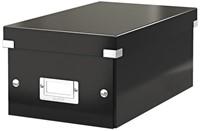 Dvd Box Leitz Click & Store 190x135x320mm zwart-1