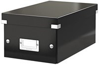 Dvd Box Leitz Click & Store 190x135x320mm zwart-2