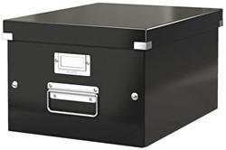 Opbergbox Leitz Click & Store 265x188x335mm zwart