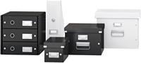 Cd box Leitz Click & Store 127x124x320mm zwart-2