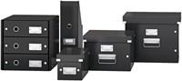 Dvd Box Leitz Click & Store 190x135x320mm zwart-4