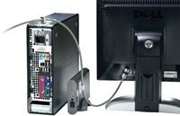 Beveiligingsset Kensington desktop + pc microsaver zwart-1