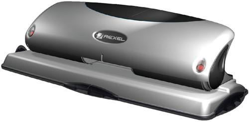 Perforator Rexel V425 4-gaats 25vel zilver/zwart