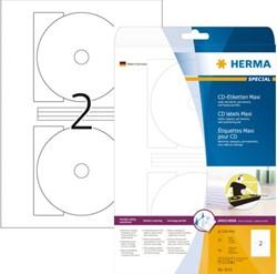 Etiket Herma 5115 CD 116mm wit 50stuks