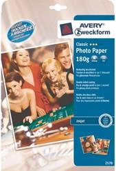 Inkjetpapier Avery 2570-10 A4 180gr glans 10vel