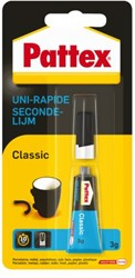 Secondelijm Pattex Classic tube 3gram op blister