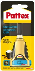 Secondelijm Pattex Gold original tube 3gram op blister