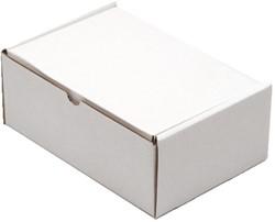 Postpakket CleverPack golfkarton 220x160x90mm wit 25stuks