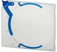 Cd opbergbox Quickflip standaard blauw 5stuks-1