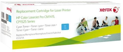 Tonercartridge Xerox 106R02223 HP CE321A 128 blauw