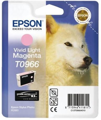 Inktcartridge Epson T0966 lichtrood