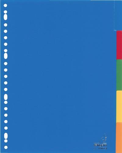 Tabbladen Kangaro 23-gaats A405FM 5-delig+venster assorti PP