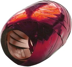 Polyband Haza 20mx5mm metal rood