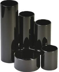 Pennenkoker Alco 5delig zwart