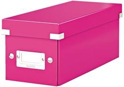 CD-BOX LEITZ WOW CLICK&STORE ROZE 1 STUK