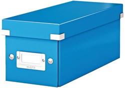 Cd box Leitz Click & Store WOW 143x136x352mm blauw