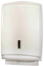 Dispenser PrimeSource Interfold handdoek wit