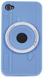 Telefoonhoes Dresz silicone iPhone 4/4S motief fotocamera