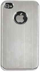 Telefoonhoes Dresz aluminium finish iPhone 4/4S grijs